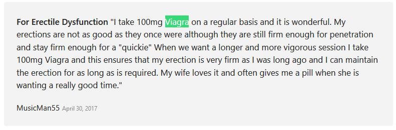 Viagra Reviews