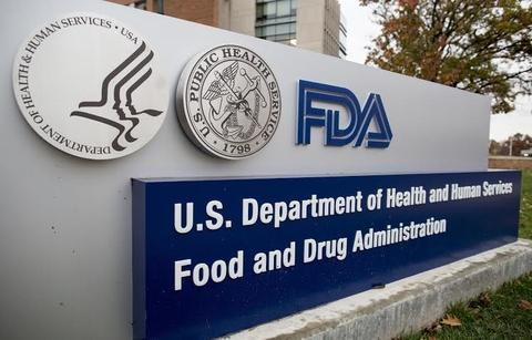 The United States Food and Drug Administration logo