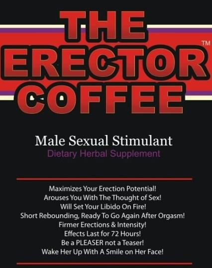 The erector coffee package