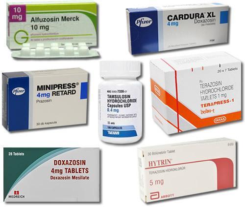 Alpha-blocker Drugs