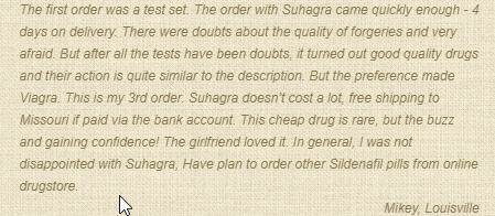 Suhagra Review