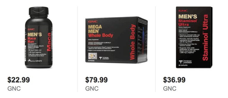 Erection Pills at GNC