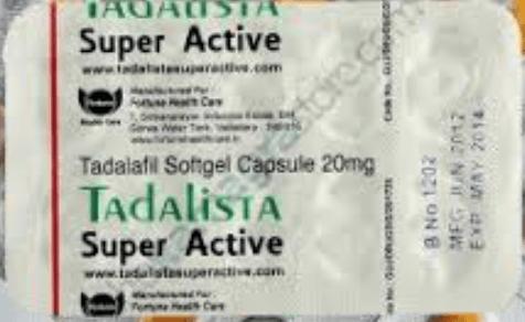 Tadalista Brand Tadalafil Super Active