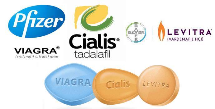 Main ED Brands