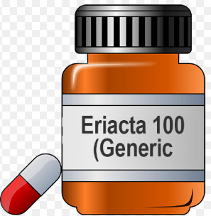 Generic Eriacta 100mg package