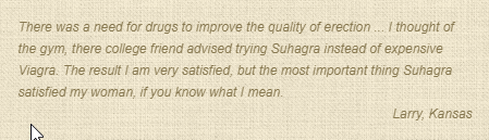 Suhagra Consumer Review
