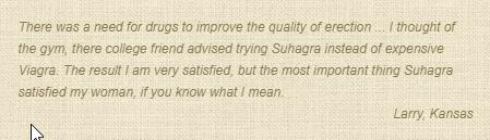 Suhagra Consumer Review