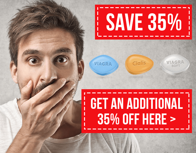 35% Discount Offer for Cialis and Viagra